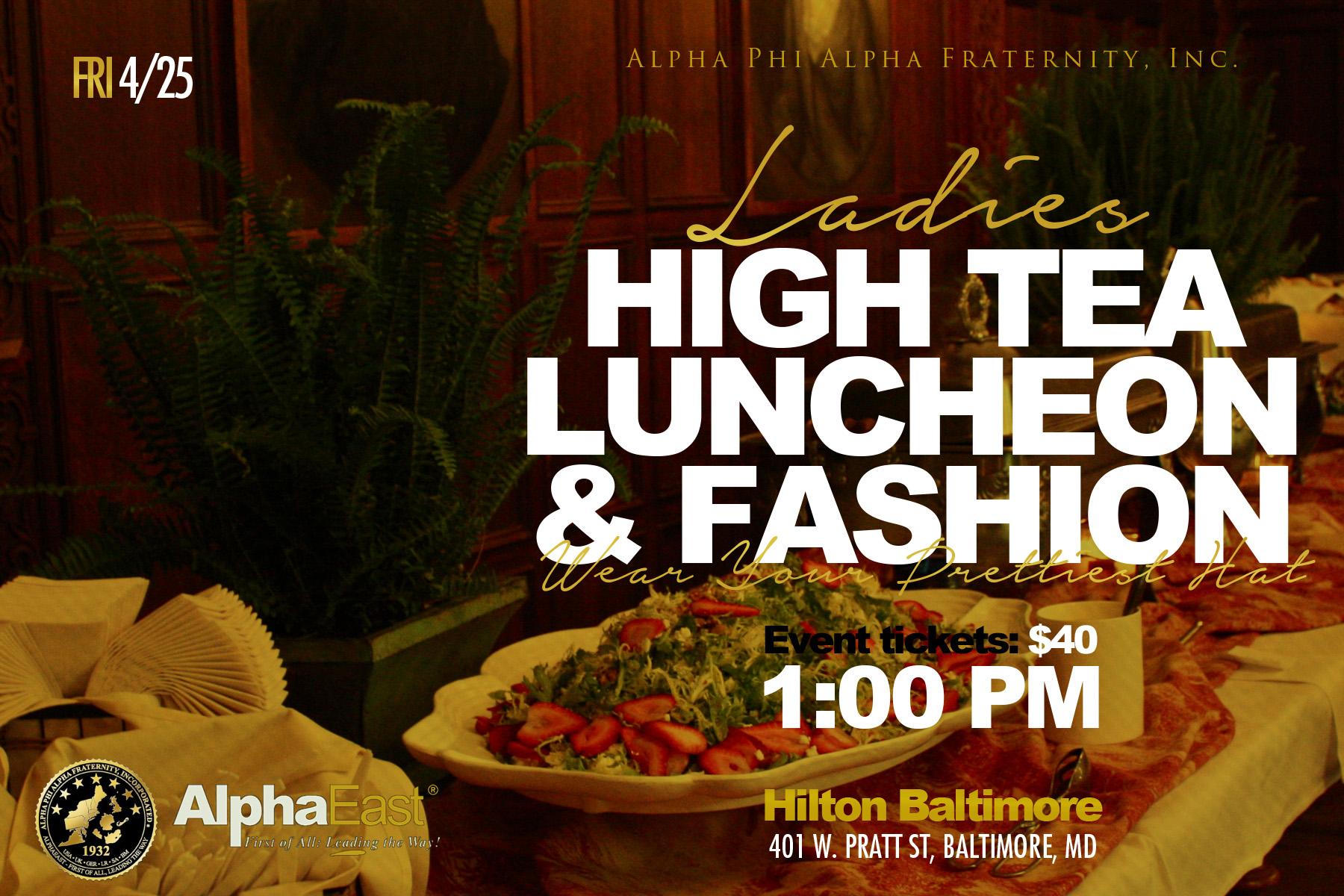 Luncheon Flyer