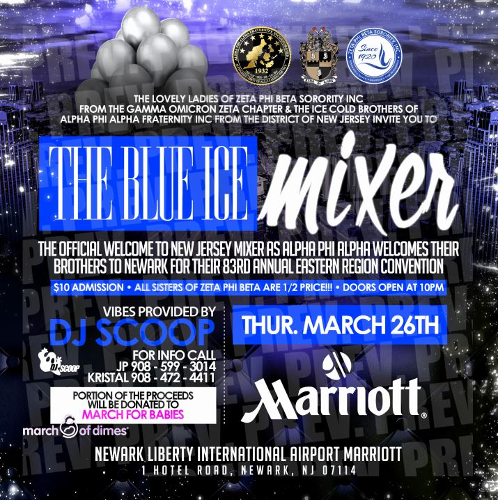 blue ice mixer