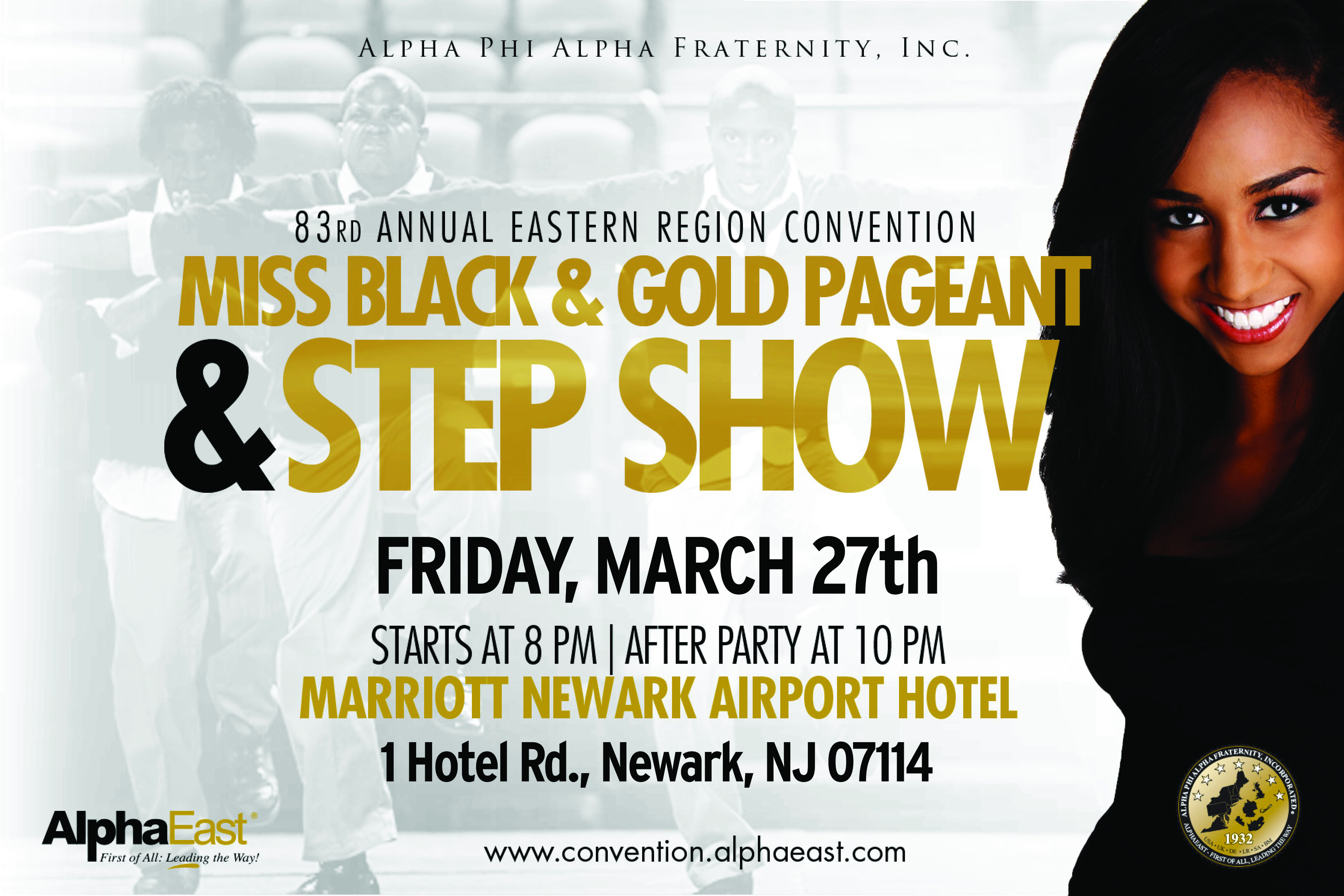 miss black & gold pageant & step show